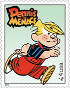 Dennis the Menace Stamp