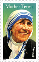 Mother Teresa Stamp