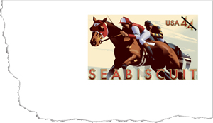 Seabiscuit Envelope