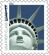 2011 Lady Liberty Forever Stamp