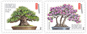 Bonsai 2012 U. S. Postage Stamps