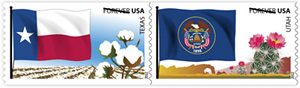 Flags of Our Nation 2012 U. S. Postage Stamps