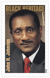 John Johnson 2012 U. S. Postage Stamp