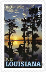 Louisiana Statehood Forever Stamp 2012