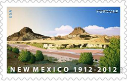New Mexico Statehood 2012 U.S. Postage Stamp