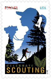 Celebrate Scouting 2012 U. S. Postage Stamp