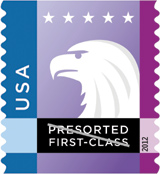 Spectrum Eagle Stamp 2012
