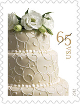 Wedding Cake stamp