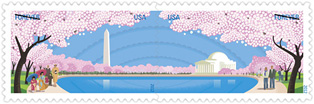 Cherry Blossoms 2012 U. S. Postage Stamp