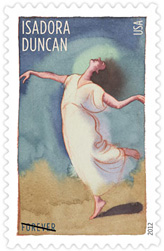 Innovative Choreographers 2012 U. S. Postage Stamps