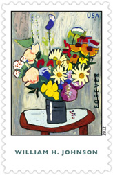 William H. Johnson 2012  U. S. Postage Stamp