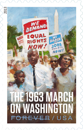 March on Washington Stamp, 2013
