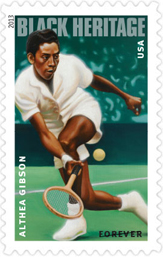 Althea Gibson Forever Stamp, 2013