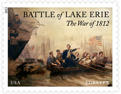 The War of 1812: Battle of Lake Erie Stamp, 2013