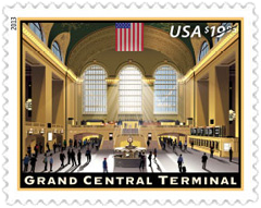 Grand Central Terminal Stamp, 2013