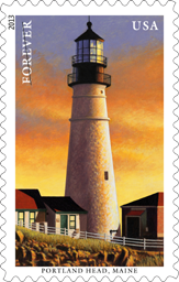 New England Coastal Lighthouses Stamps, 2013