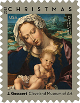 Virgin and Child Christmas Stamp, 2013