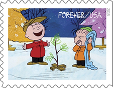 A Charlie Brown Christmas stamps 2015