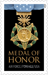 USPS Medal of Honor Forever Stamp - Airforce 2015