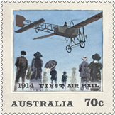 Australia Post - 1914 First Airmail Stamp in
