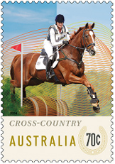 Australia Equestrian Events Cross-Country Stamp 2014