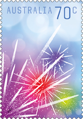 Australia Special Occasion Stamp - Fireworks 2014,