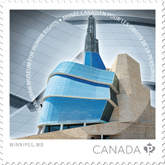 Canada Post 2014 - Museum Human Rights Stamp
