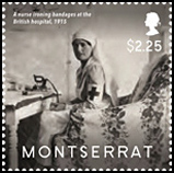 World War I 100th Anniverary Stamps - Montserrat