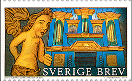 2014 Sweden issued a set of stamps highlighting Sweden's churches as a cultural heritage . . .