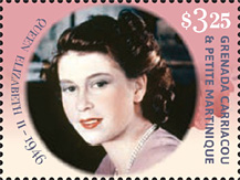 Queen Elizabeth II 90th Birthday stamp