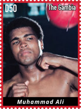 Muhammad Ali stamp - IGPC - Inter-governmental Philatelic Corporation