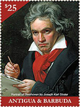 Beethoven 250th Birth Anniversary Stamp