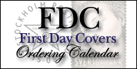 First Day Covers - Ordering Calendar