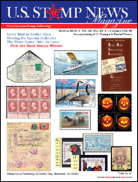 US Stamp News Magazine by Stamp News Publishing, Publisher - John Dunn