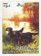 Topicals - Dog Art on Stamps