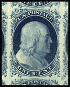 US Postage Stamp  - One Cent