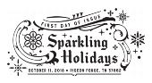 Sparkling Holidays First Day of Issue 2018 - Black and White Pictorial