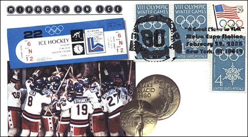 MetroExpo NY, Miricle On Ice US Olympic Hockey Team, Full-Color Cover