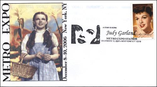 MetroExpo NY - Judy Garland, Full-Color Cover