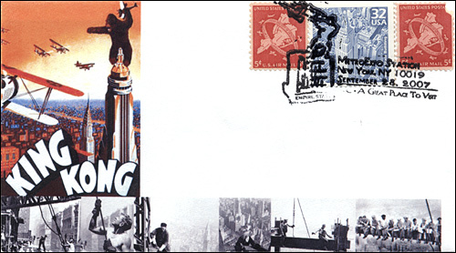 MetroExpo NY, Empire State Building King Kong, Full-Color Cover