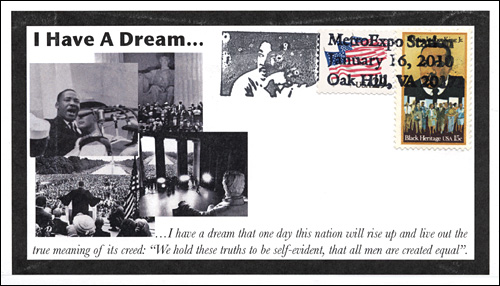 MetroExp DC, Dr. Martin Luther King, Jr. I Have A Dream Speach, Full-Color Cover