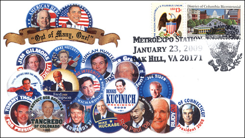 MetroExpo DC, 2009 Presidential Election, Full-Color Cover