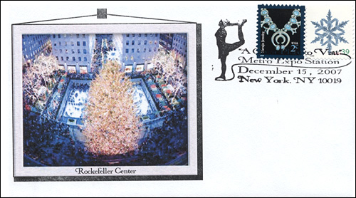 MetroExpo NY, Rockefeller Center Skating, Full-Color Cover