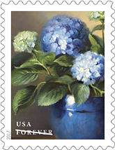 USPS Flowers from the Garden stamps 2017