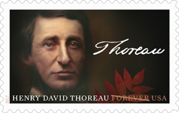 USPS - Henry David Thoreau Forever Stamp, 2017