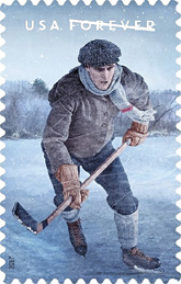History of Hockey Stamp