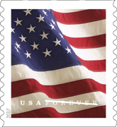 USPS - US Flag stamp 2017