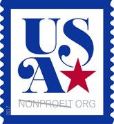 Patriotic Nonprofit Stamp