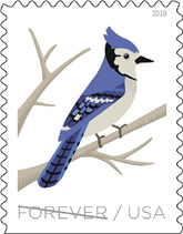 Birds of Winter Stamps, USPS 2018