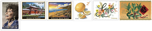 USPS Postage Stamp Releases for January 2018